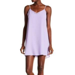 Naked Zebra V-Neck Solid Dress